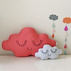 Darling handmade cloud cushion