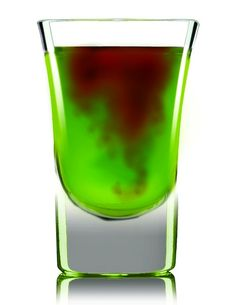 Smoking Dragon Shot .5 oz Lucid Absinthe .5 oz Midori Melon liqueur .5 oz lemon-lime soda 1.5 oz pineapple juice Drizzle of grenadine Combine Lucid, Melon liqueur, lemon-lime soda and pineapple with ice and shake. Strain into a chilled shot glass and drizzle grenadine into the mix.