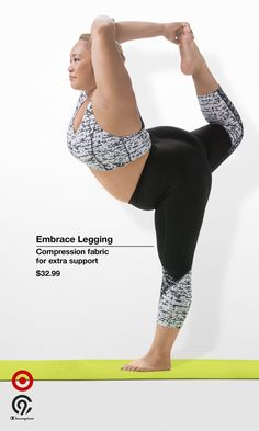 Reach back while looking fashion forward in new C9 Champion premium leggings. Made with extra supportive 4-way stretch compression fabric and your unique shape in mind so you can move more freely and find balance while staying in place. Shop a new kind of strong. Only at Target.