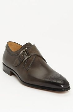 Magnanni 'Austin' Monk Strap Slip-On available at #Nordstrom Picked these up today to go with grey suit.