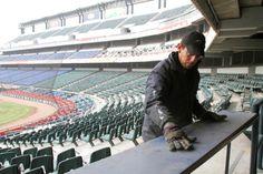 Mejoras en Estadio de Beisbol Monterrey (05 de Marzo) Foto: Roberto Alanis