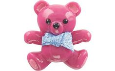 Crocs 3D Teddy Bear Jibbitz (Fuchsia) crocs. Save 20 Off!. $5.58