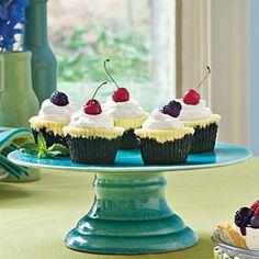 Chocolate-Key Lime Cupcake Pies   MyRecipes.com