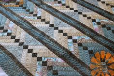 Piece N Quilt: Custom Machine Quilting Feathers by Natalia Bonner