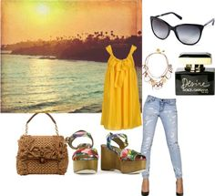 """""""Dolce and Cabana Contest"""" by ivyanna9839 ❤ liked on Polyvore"""