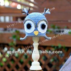 2012 nuovi arrivi uncinetto neonato più simpatico gufo beanie bambino cappelli ragazza foto puntelli-Cappello di inverno-Id prodotto:627654765-italian.alibaba.com