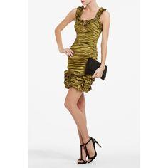3e39706581 Bcbgmaxazria Dresses, Herve Leger Dress, Stylish Eve, Green Dress