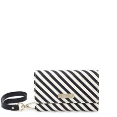 kate spade | spade stripe iphone wristlet