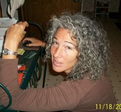 Naturally Curly Gray Hair | ... You Embracing or Running Away From Your Gray Hair?-mamma-11-18-11.jpg