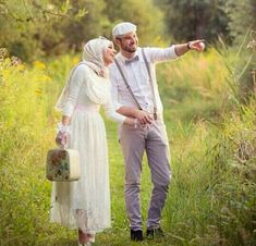 matched outfit honeymoon hijab