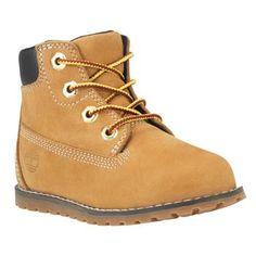 cc0ffe3bb7fcb Timberland - Chaussures Souples Pokey Pine 6-inch pour Enfant - Wheat  Nubuck Cuir Jaune