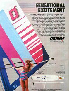 OBRIEN windsurfing board 1984