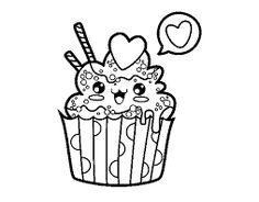 Resultado de imagen de dibujos cupcakes
