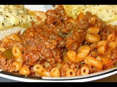 (10) Pasta with Ground Beef Recipe - Easy Turkish Recipes - YouTube
