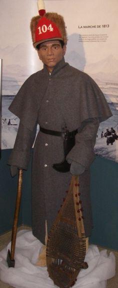 Pioneer- 104th (New Brunswick) Regiment of Foot Winter Dress 1812-1814 -Carleton Martello Tower National Historic Site, Saint John, New Brunswick CANADA