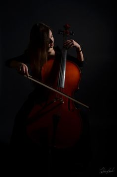 The cello is my favorite instrument. And that's who I am.