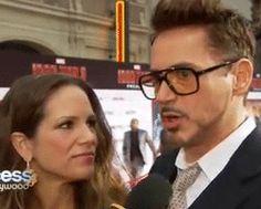 Iron Man 3. Hollywood Premiere. (gif)