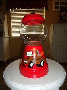 The Cars Candy Jar