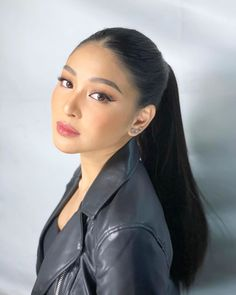 for Mobile Legends Makeup by Styled by Hair by using Nadine Lustre Makeup, Lady Luster, Actor James, Jadine, Mobile Legends, Best Actress, Girl Face, Makeup Looks, Hair Makeup