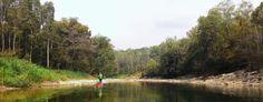 Peacefully places in Oyo river,  Yogyakarta