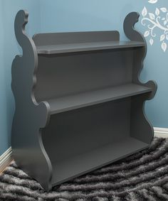 Gray Elephant Mobile Double-Side Bookcase