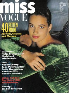Miss Vogue 11/89 -- I used to love this magazine and still have all issues.