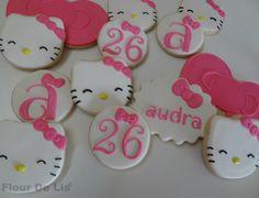 Hello Kitty Cookies, by Flour De Lis