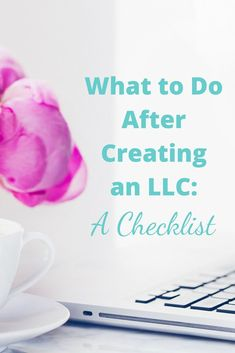 You've decided to incorporate and start an LLC for your online business. Congratulations! Now, here's what to do AFTER forming an LLC. via @businessese #legalforbusiness #LLC