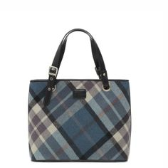Love this! DEXTER – Tartan Tote - Bags from Ness Clothing