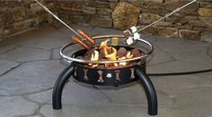 Portable Ring Gas Fire Pit