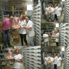Celebrando retos en #farmacia San Hilario Dos Hermanas