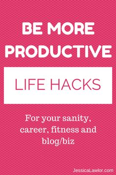 Be more productive w