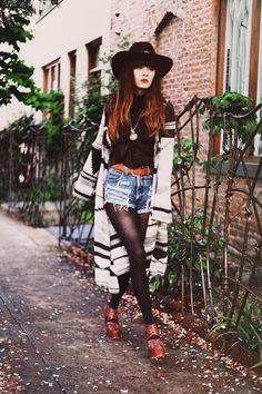 #fashion #style #hat #denim