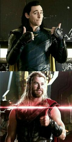 Thor and Loki smile's - Marvel Universe Marvel Jokes, Marvel Funny, Marvel Heroes, Marvel Avengers, Loki Laufeyson, Wallpaper Thor, Loki E Thor, Loki Ragnarok, Snowwhite And The Huntsman
