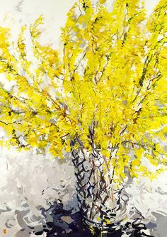 Bobbie Burgers..I miss my forsythia, always there to welcome the spring