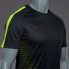 Camiseta Nike CR7 Dry Squad - Negro/Volt