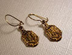 Vintage Earrings Delta Epsilon Theta