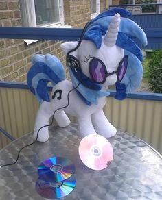 "My little pony plush FIM DJ pon3 vinyl scratch pon3 plushie large 19,7""   eBay"