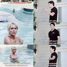 One Tree Hill - Deb Scott (Barbara Alyn Woods) & Nathan Scott (James Lafferty)