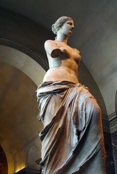 Venus of Milos (Aphrodite of Milos) ★ Ancient greek sculpture ★ currently in Louvre... ★ Someday back home...!