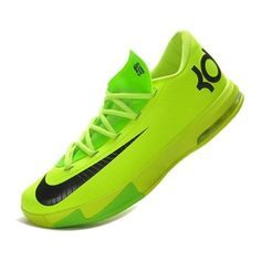 buy mens nike kd vi 6 neon green black ($67) ? liked on Polyvore. Nike Air  ForceNike ...