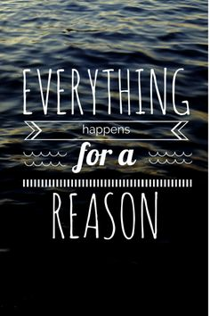 Freebie! Phone Wallpaper //Everything happens for a reason | Leveala