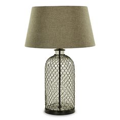 Image of Wire/Glass Lamp
