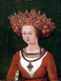 Cunégonde d'Autriche, duchesse de Bavière, d'après Kunreiter