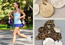 Erica Sara crafted a simple piece of running bling and turned her charms into a booming business thanks to online fitness communities and the love of literally wearing your goals.