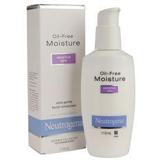 Neutrogena Oil-Free Moisture, Sensitive Skin | 30 Products That Will Save Your Sensitive Skin
