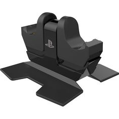 PowerA - DUALSHOCK 4 Charging Station for PlayStation 4 - Black - Larger Front