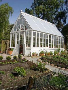 pretty greenhouse tyra's garden