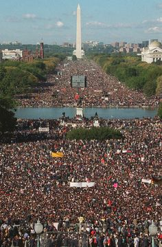 Million Man March!!!!  Long live the spirit of the Million Man March! Resurrect the dream.
