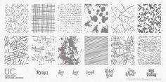 Texture-licious - UberChic Mini Nail Stamp Plates